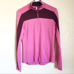 Ibex Half Zip Merino Wool Sweater Small